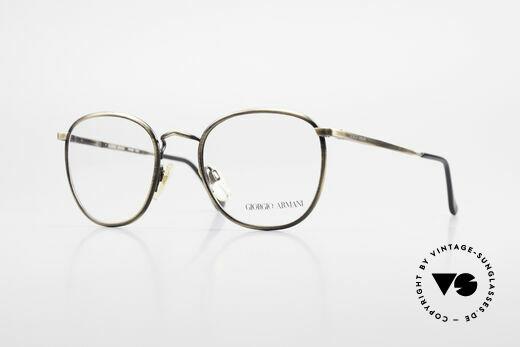 Giorgio Armani 150 Classic Men's Eyeglasses 80's Details