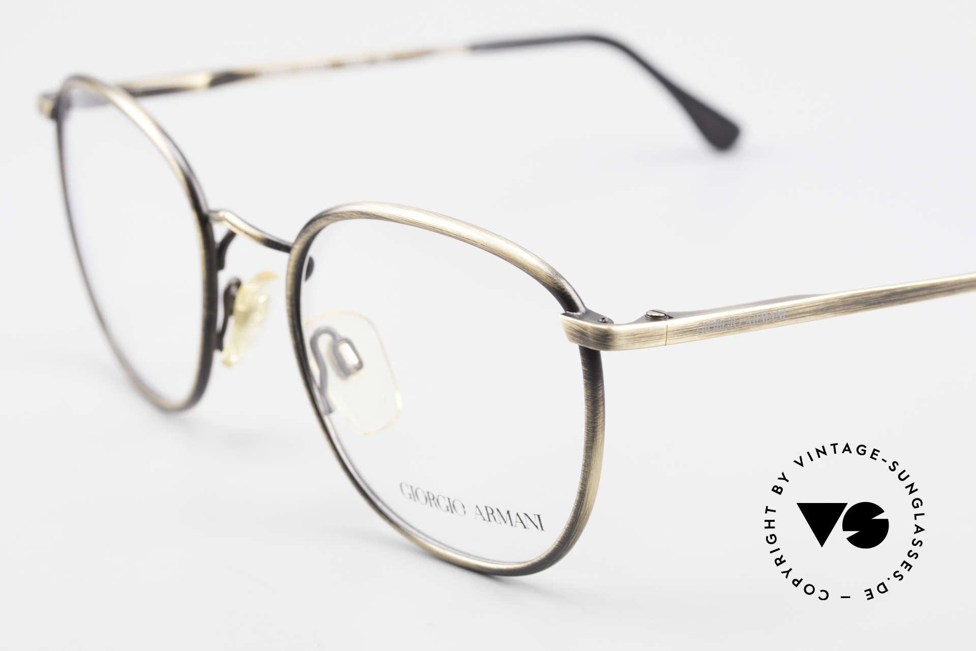 Giorgio Armani 150 Classic Men's Eyeglasses 80's, true 'gentlemen eyeglass-frame' in top-notch quality, Made for Men