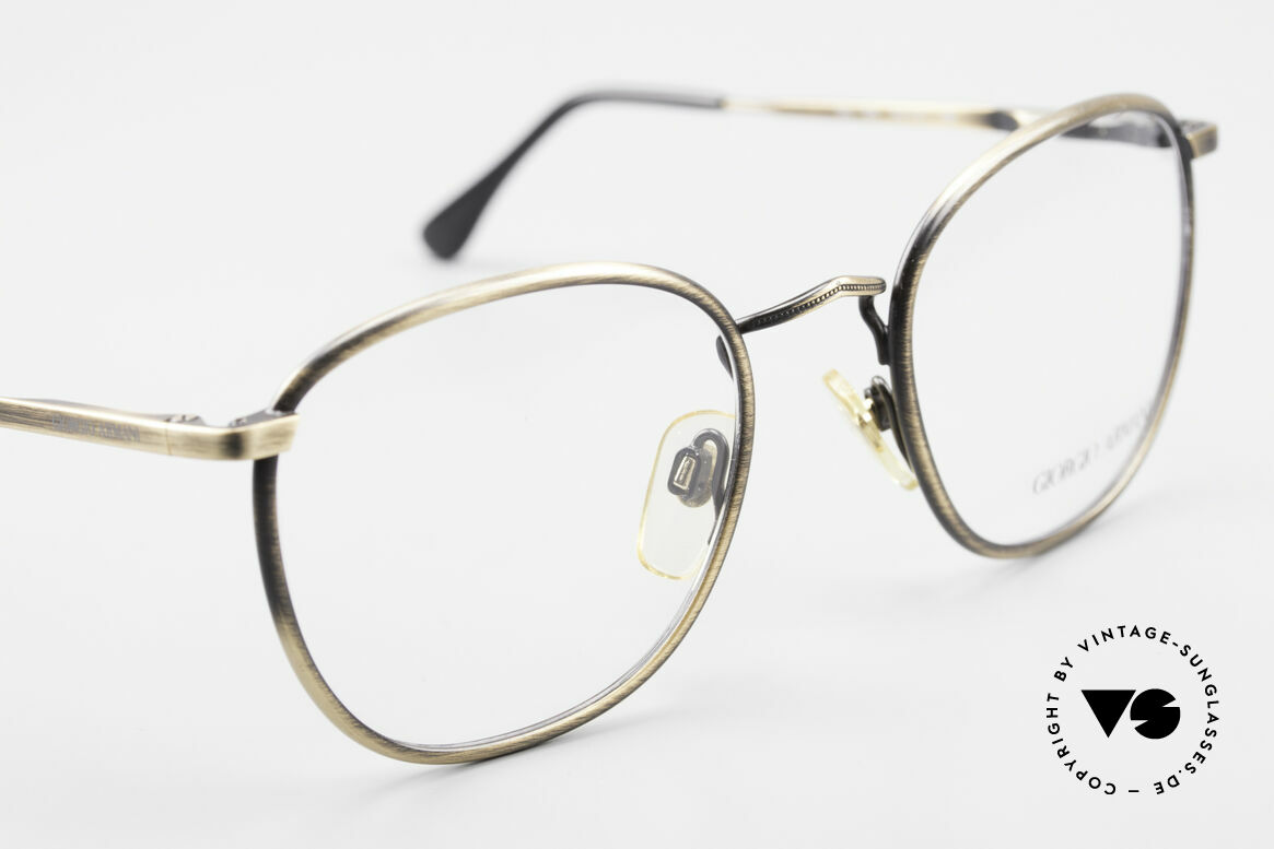 Giorgio Armani 150 Classic Men's Eyeglasses 80's, never worn (like all our vintage Giorgio Armani specs), Made for Men