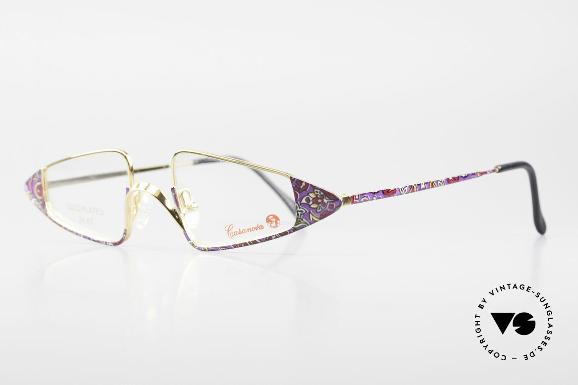 Casanova FC15 24kt Gold Plated Reading Specs, at the time of the Italian writer Giacomo G. Casanova, Made for Women