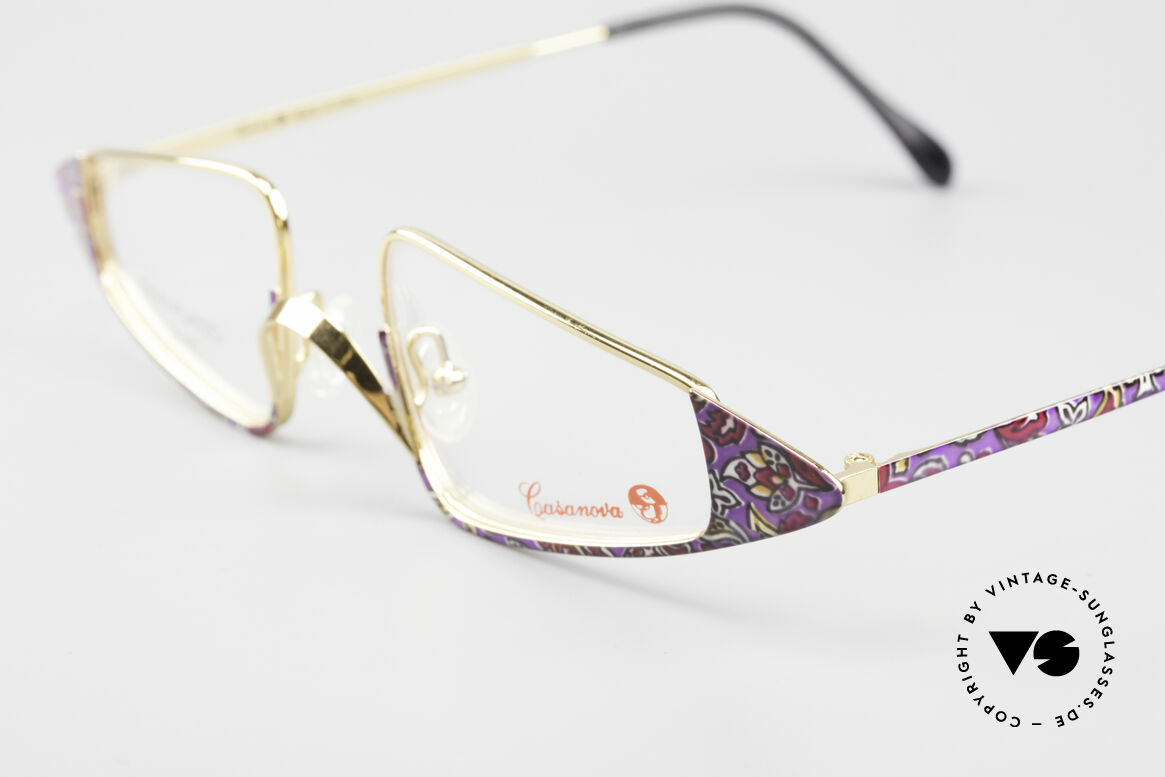 Casanova FC15 24kt Gold Plated Reading Specs, designed as extraordinary reading glasses, truly unique, Made for Women