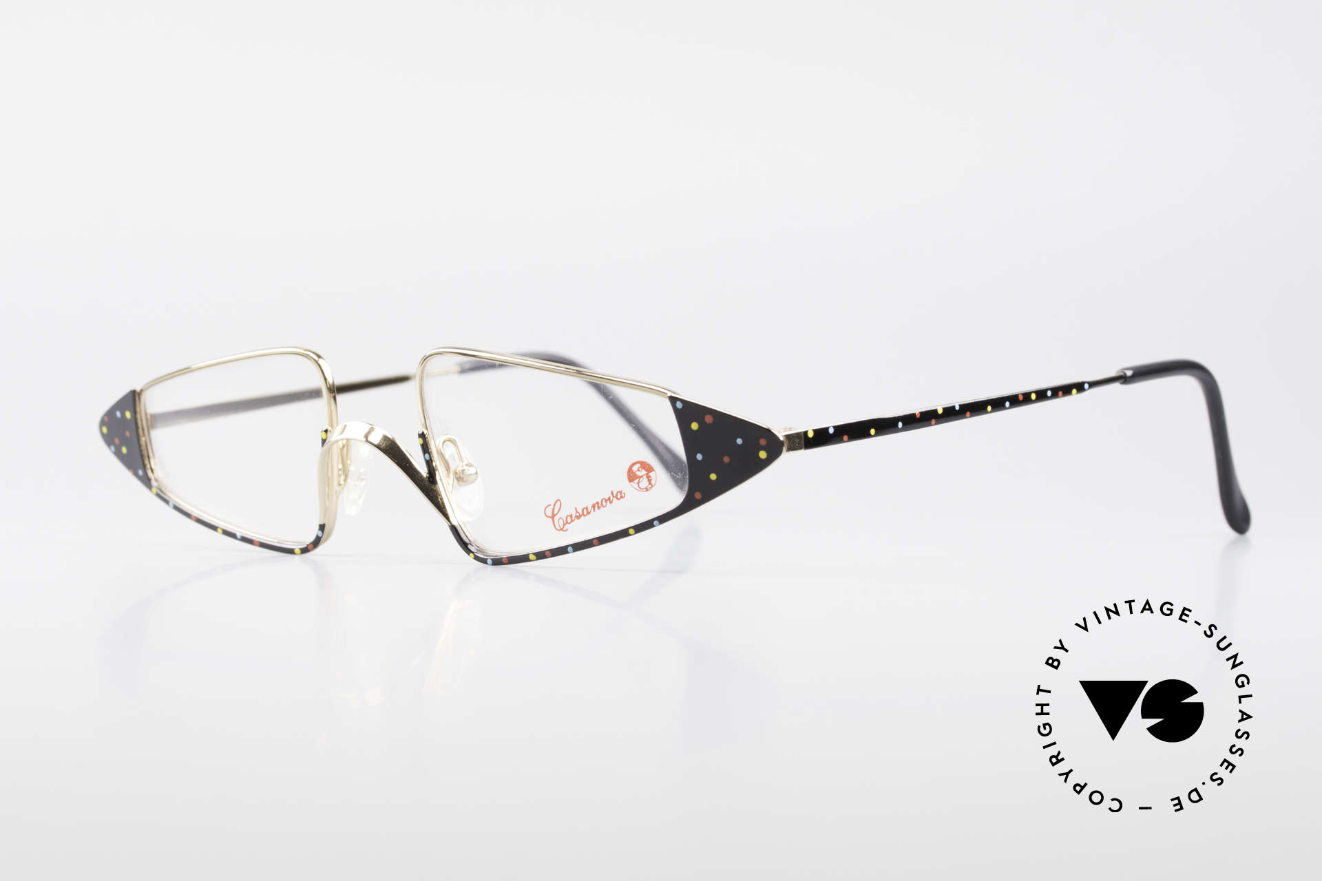 Casanova FC15 Fancy Vintage Reading Frame, at the time of the Italian writer Giacomo G. Casanova, Made for Women