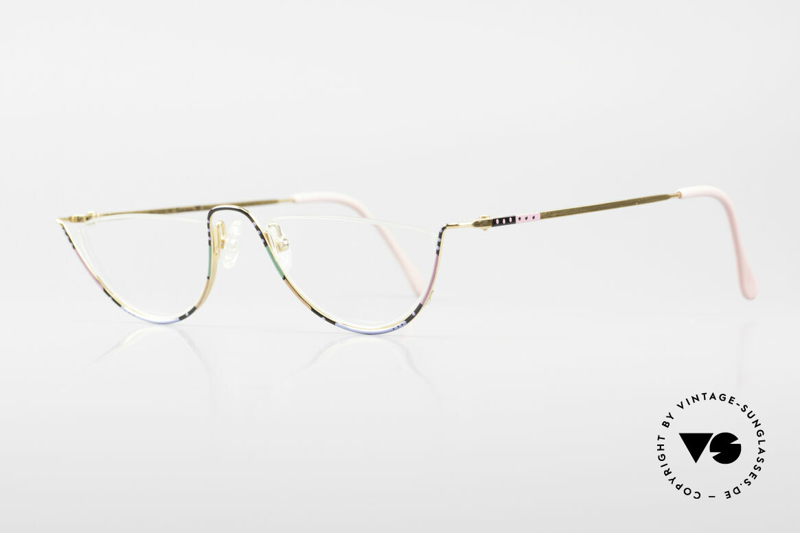 Casanova FC11 Colorful Reading Eyeglasses, at the time of the Italian writer Giacomo G. Casanova, Made for Women