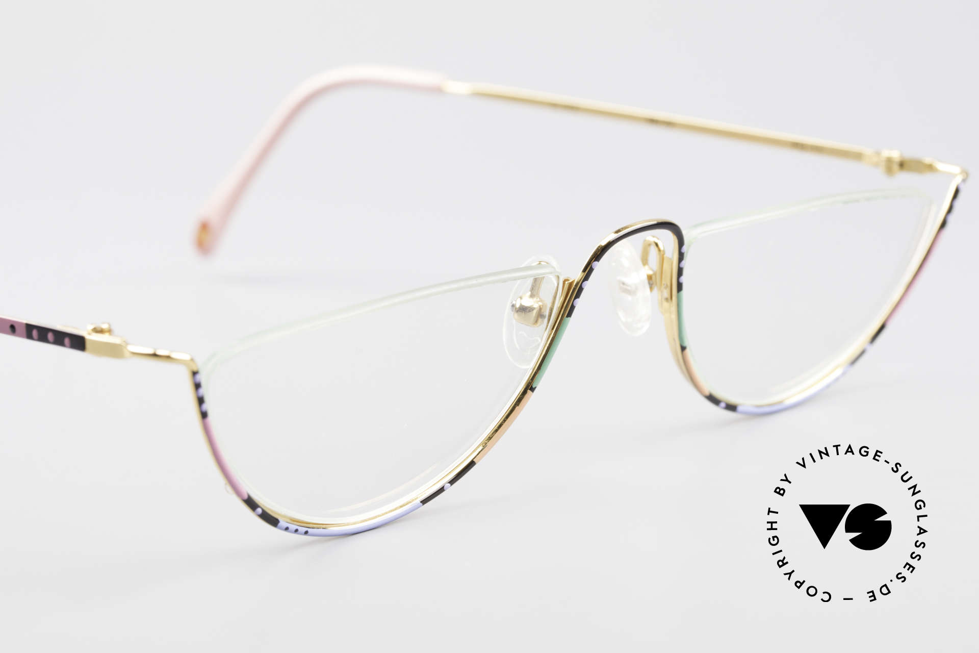 Casanova FC11 Colorful Reading Eyeglasses, limited-lot production (rare, extravagant & sumptuous), Made for Women