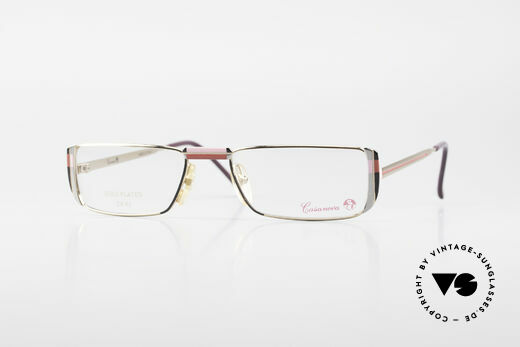Casanova NM3 Gold Plated Reading Glasses Details