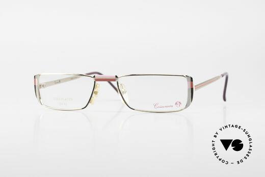 Casanova NM3 Gold Plated Reading Glasses Details