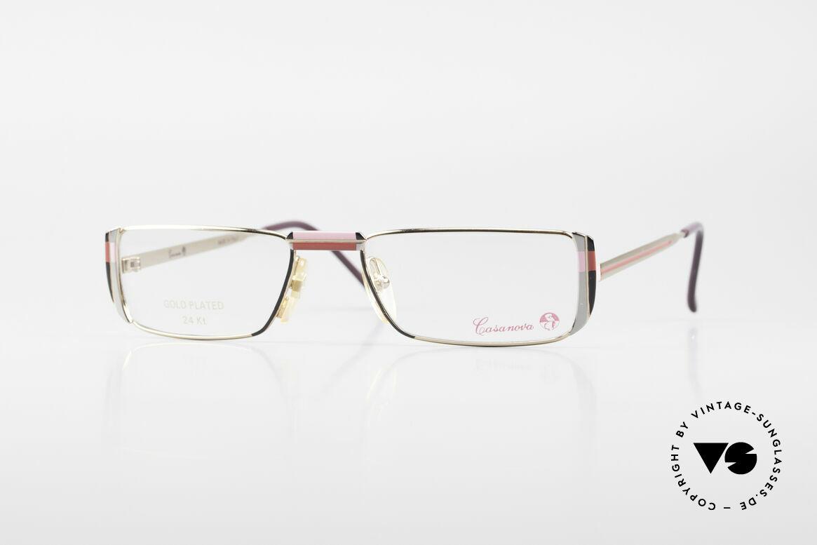 Casanova NM3 Gold Plated Reading Glasses