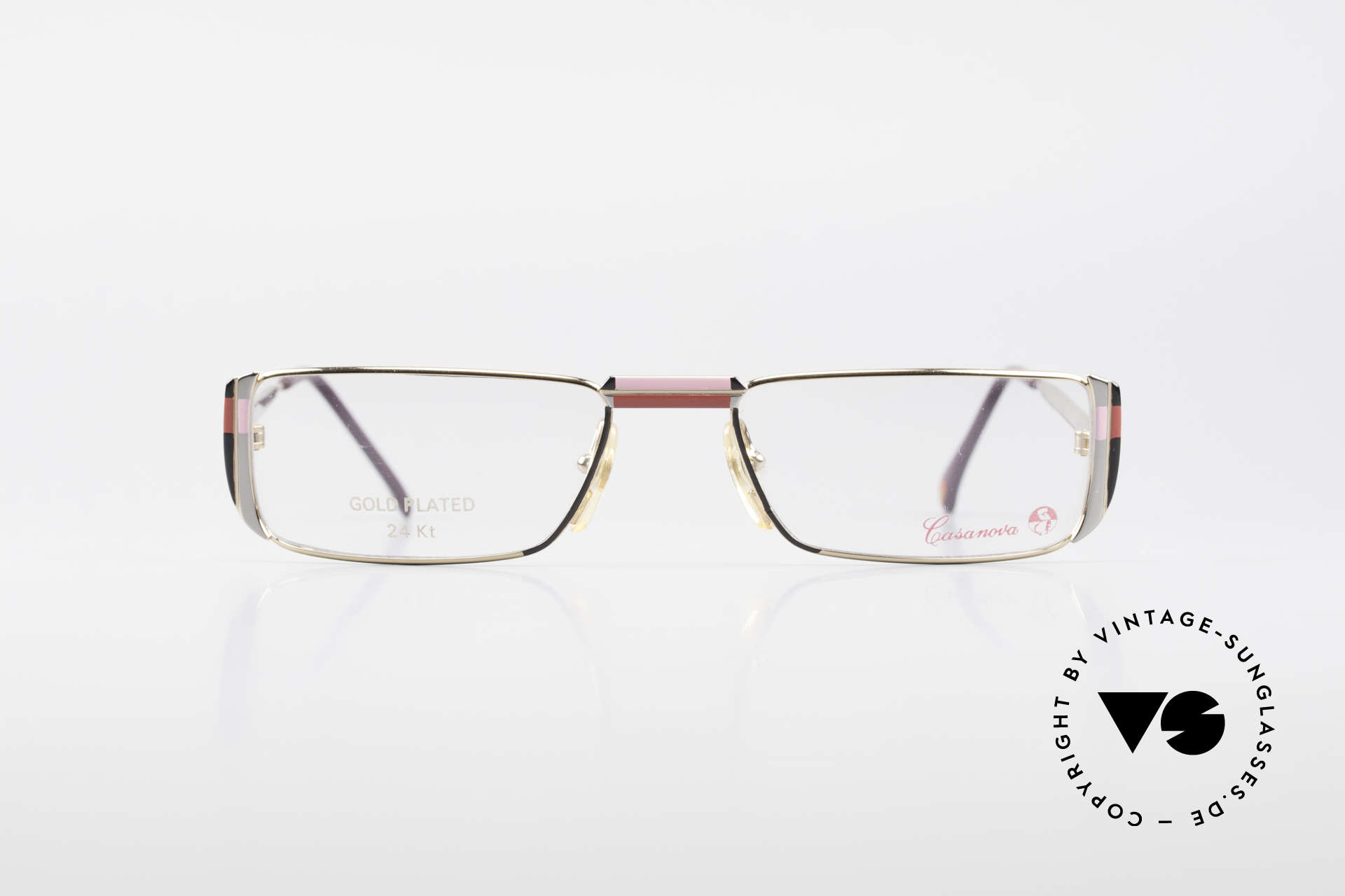 Casanova NM3 Gold Plated Reading Glasses, gold-plated frame (a matter of course, at that time), Made for Women