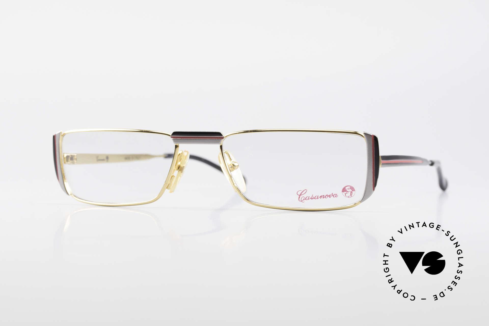 Casanova NM3 Square Reading Eyeglasses 80s, striking vintage 1980's Casanova reading eyeglasses, Made for Men and Women