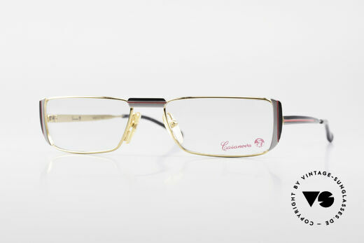 Casanova NM3 Square Reading Eyeglasses 80s Details