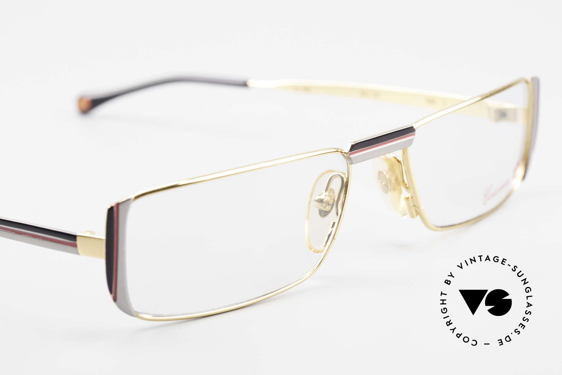 Casanova NM3 Square Reading Eyeglasses 80s, NOS - unworn (like all our vintage Casanova frames), Made for Men and Women