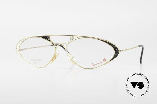 Casanova LC8 80's Vintage Ladies Eyeglasses Details