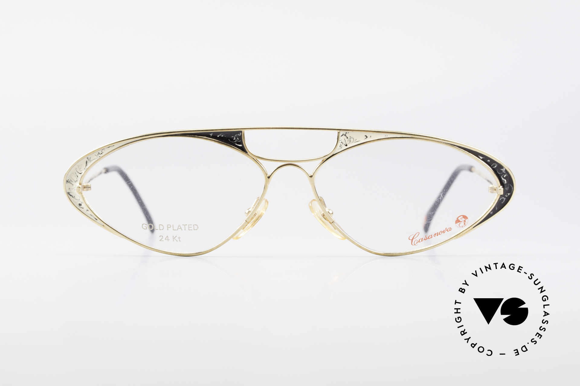 Casanova LC8 80's Vintage Ladies Eyeglasses, fantastic combination of color, shape & functionality, Made for Women