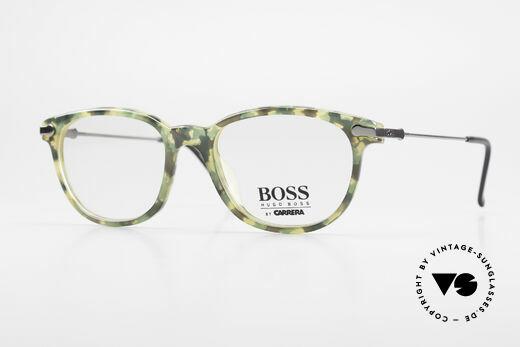 BOSS 5115 Camouflage Vintage Eyeglasses Details