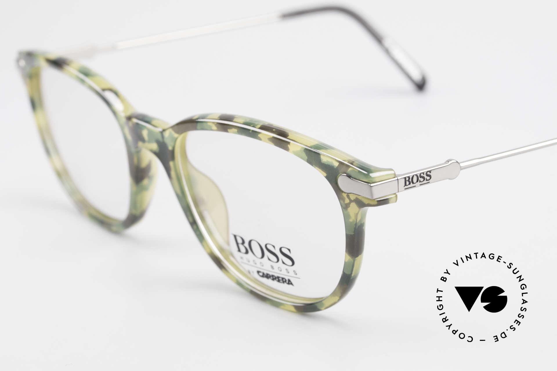 BOSS 5115 Camouflage Vintage Eyeglasses, unworn (like all our rare vintage BOSS eyeglasses), Made for Men