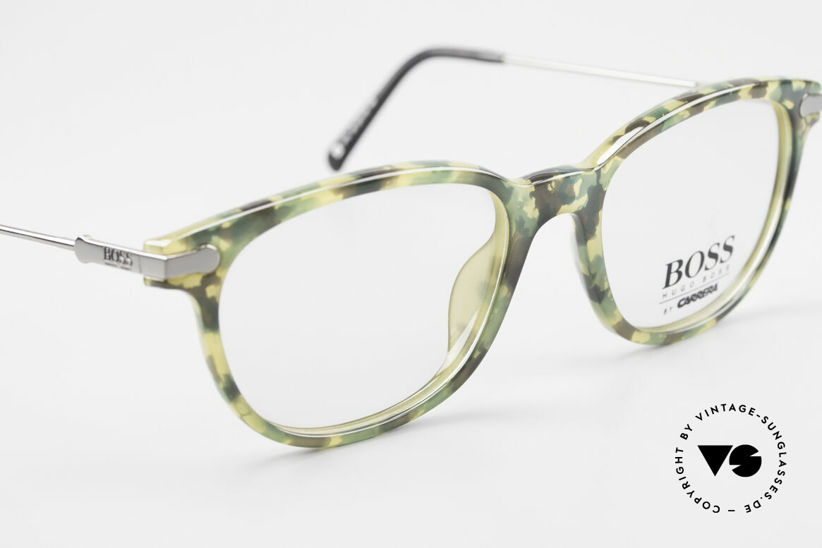 BOSS 5115 Camouflage Vintage Eyeglasses, NO RETRO eyewear; but a 25 years old ORIGINAL!, Made for Men