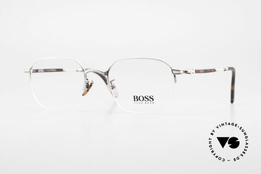 BOSS 4712 Classic Men's Eyeglasses 90s Details