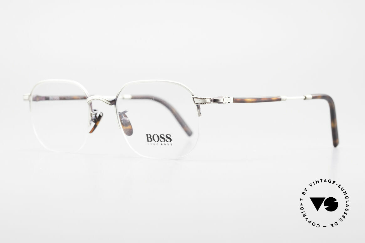 BOSS 4712 Classic Men's Eyeglasses 90s, one of the first BOSS models from Italy (late 90's), Made for Men