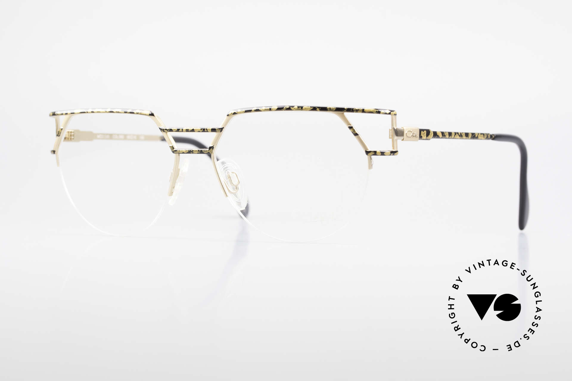 Cazal 248 Original 90's Frame No Retro, distinctive CAZAL eyeglasses of the early 1990's, Made for Men and Women