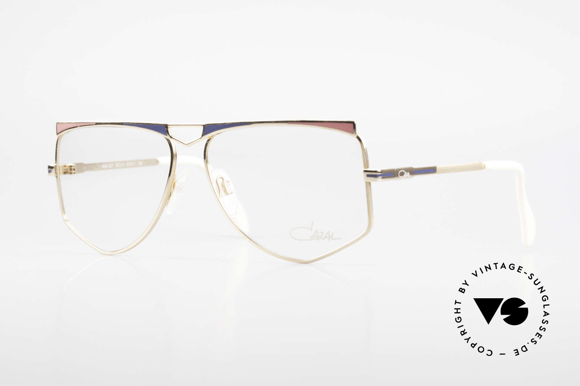 Cazal 227 True Old Vintage Eyeglasses, lovely women's designer frame by Cari Zalloni (CAZAL), Made for Women