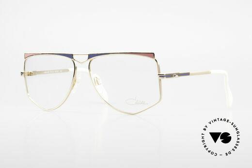 Cazal 227 True Old Vintage Eyeglasses Details