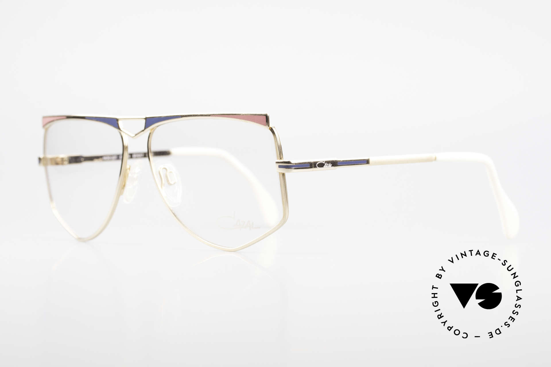 Cazal 227 True Old Vintage Eyeglasses, an old ORIGINAL from app. 1987 (NO RETRO eyeglasses), Made for Women