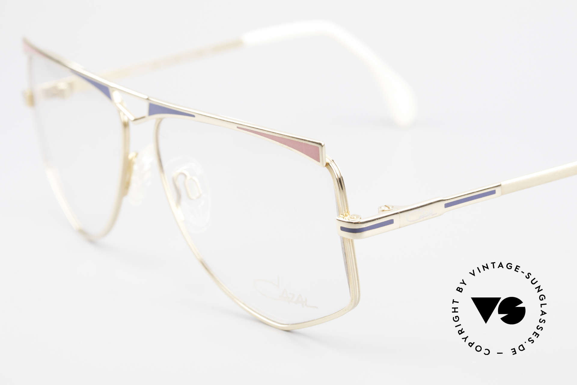 Cazal 227 True Old Vintage Eyeglasses, never worn (like all our Cazal state-of-the-art eyewear), Made for Women