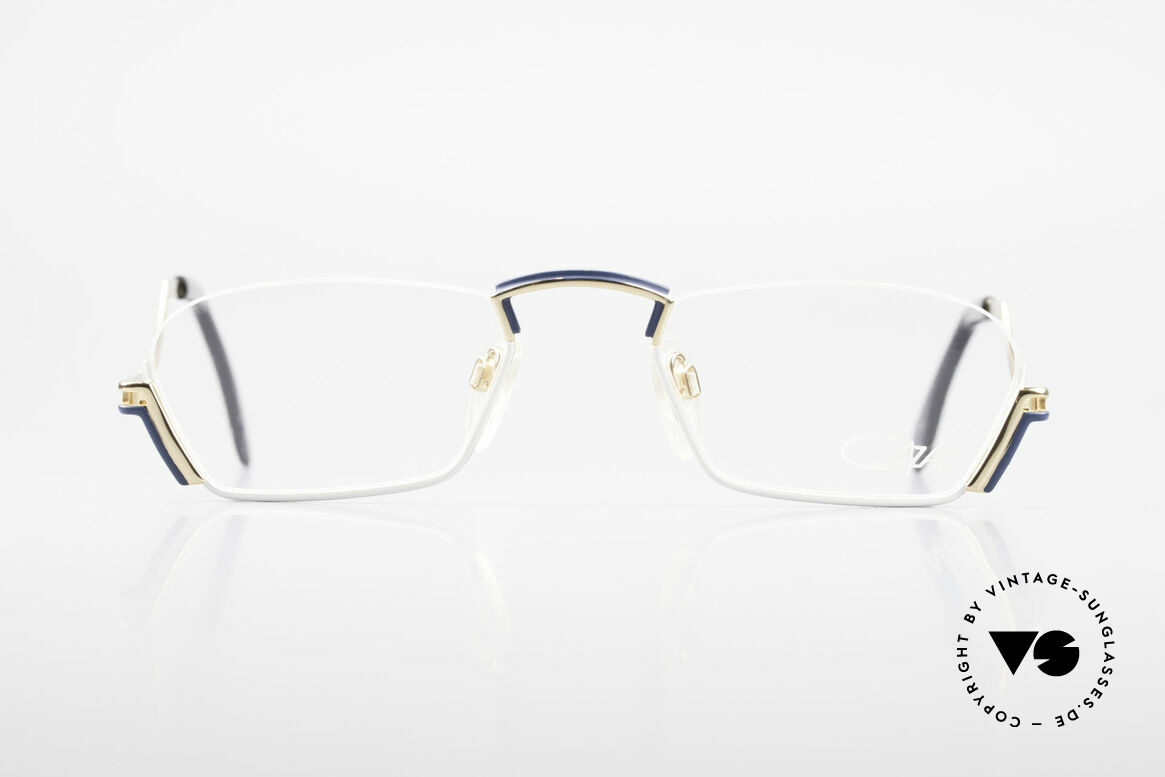 Cazal 232 Reading Vintage Eyeglasses, exciting half-frame design by Cari Zalloni (Mr. CAZAL), Made for Men and Women
