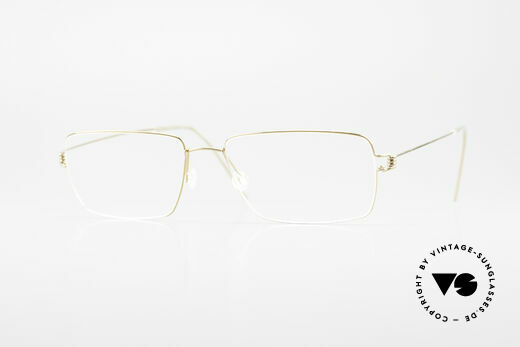 Lindberg Nikolaj Air Titan Rim Titanium Eyeglass-Frame Men Details