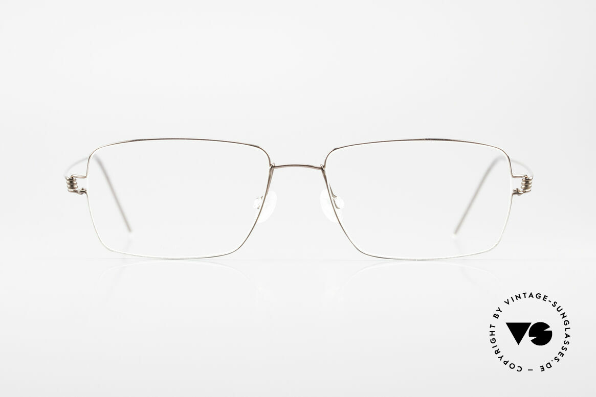 Lindberg Nikolaj Air Titan Rim High-End Titanium Frame Men, distinctive quality and design (award-winning frame), Made for Men