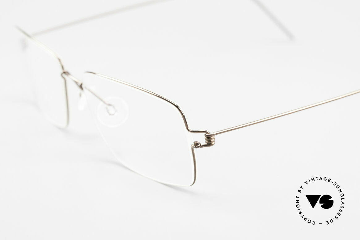 Lindberg Nikolaj Air Titan Rim High-End Titanium Frame Men, extremely strong, resilient and flexible (and 3g only!), Made for Men