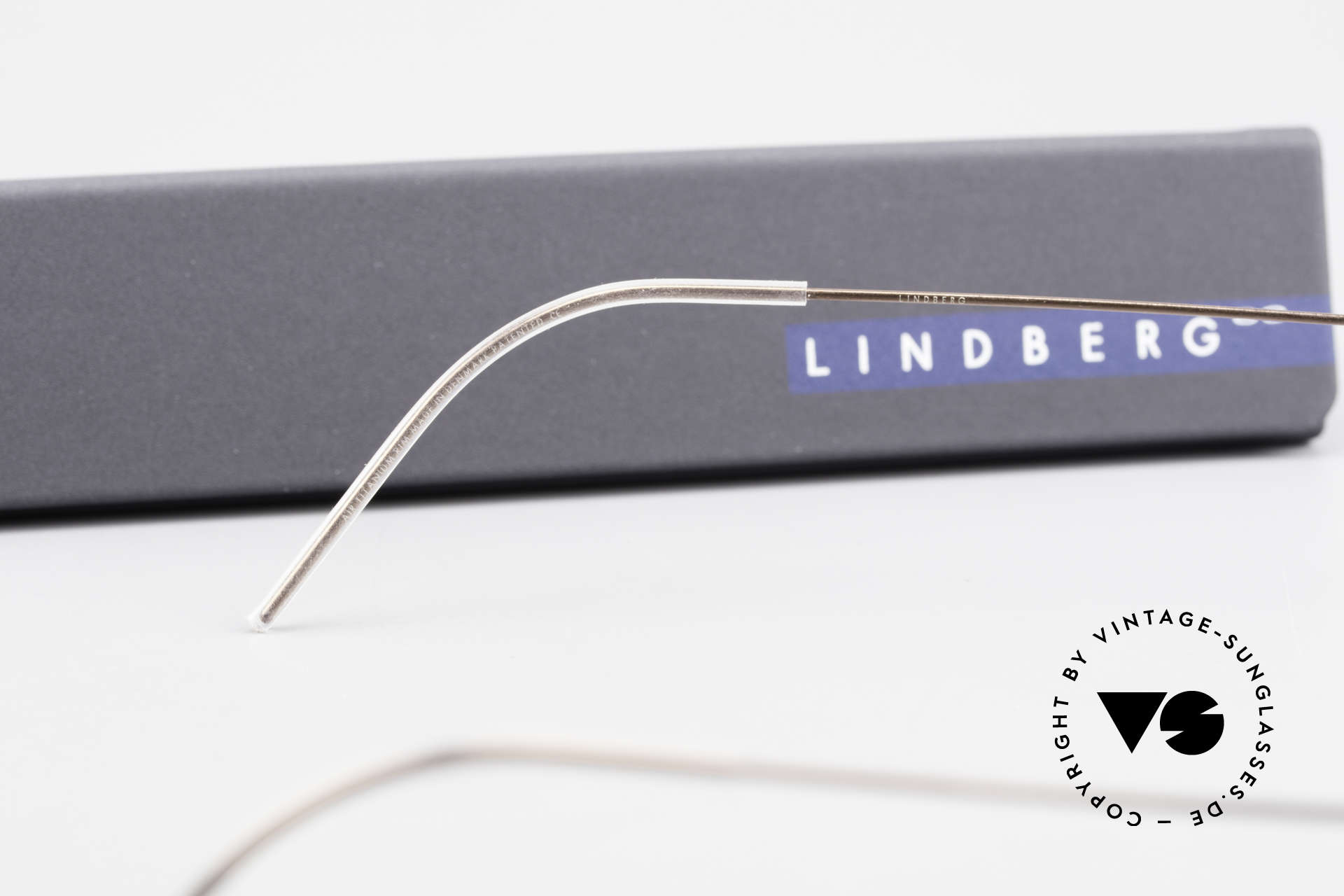 Lindberg Nikolaj Air Titan Rim High-End Titanium Frame Men, Size: medium, Made for Men