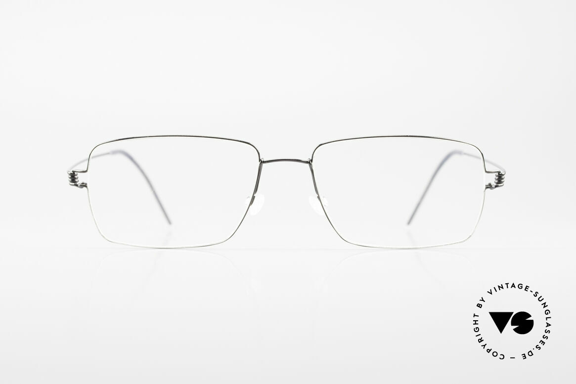 Lindberg Nikolaj Air Titan Rim Classic Titanium Frame Men, LINDBERG Air Titanium Rim eyeglasses in size 54-17, Made for Men
