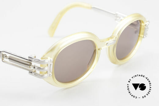 Jean Paul Gaultier 56-5203 90's Steampunk Shades Oval, NO RETRO GLASSES, but a genuine old 90's ORIGINAL, Made for Men and Women