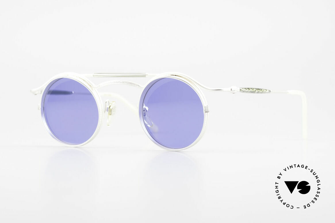 Matsuda 2903 Steampunk Sunglasses 90's, vintage Matsuda designer sunglasses from the mid 90's, Made for Men and Women