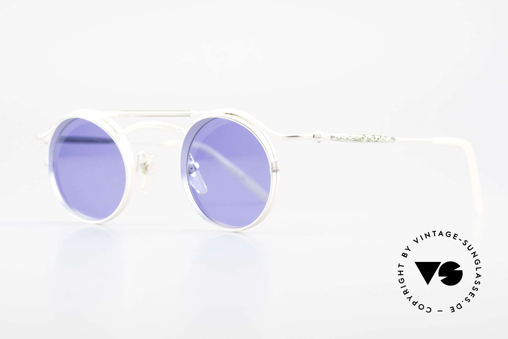 "Matsuda 2903 Steampunk Sunglasses 90's, many very interesting  ""retro-futuristic"" frame elements, Made for Men and Women"