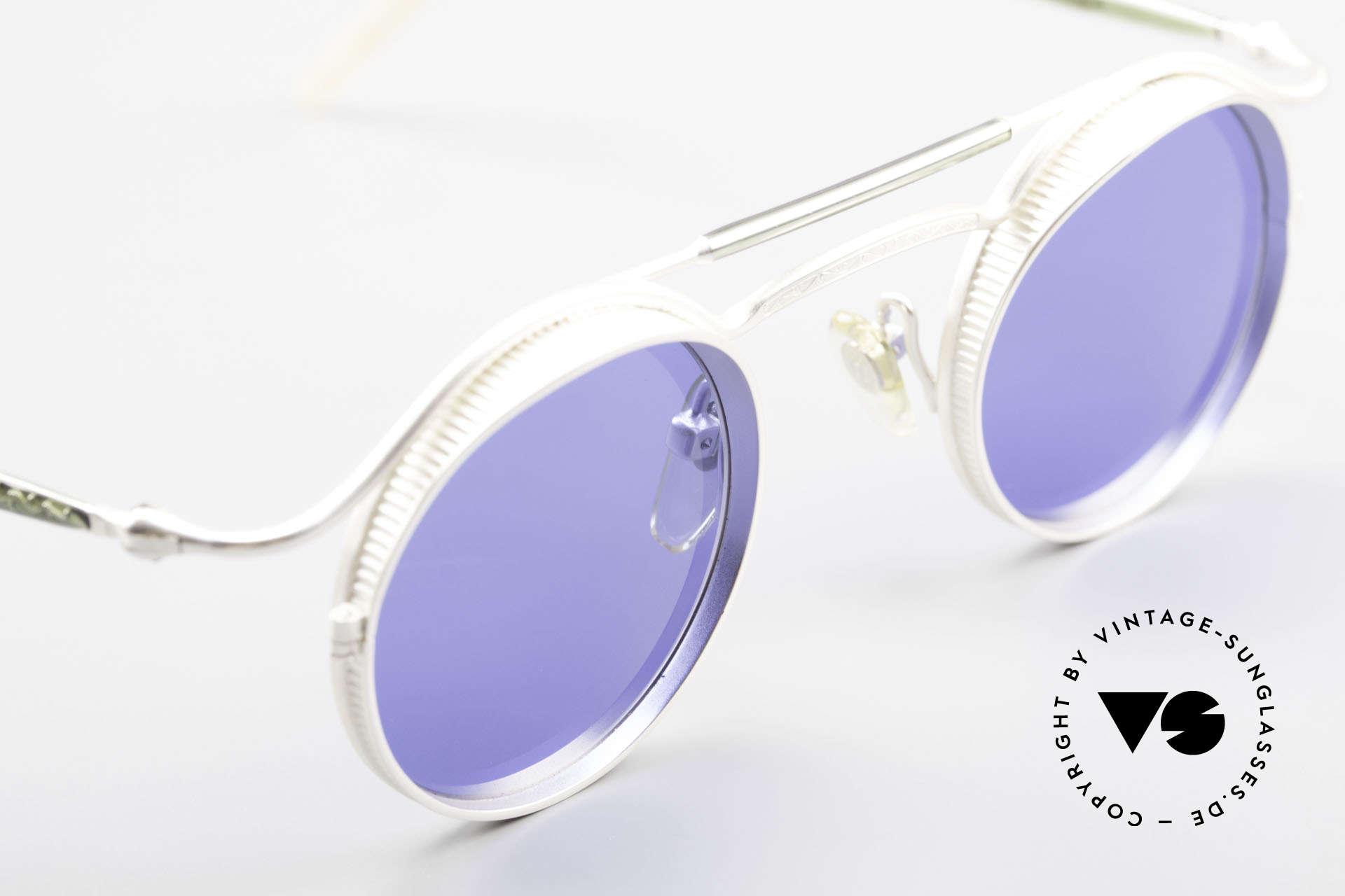 Matsuda 2903 Steampunk Sunglasses 90's, true vintage designer piece and NO RETRO reproduction, Made for Men and Women