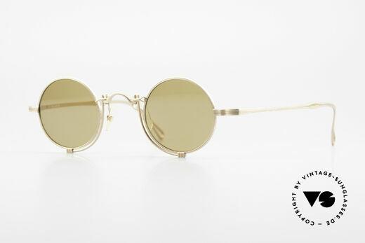 Matsuda 10601 Vintage Designer Frame Round Details