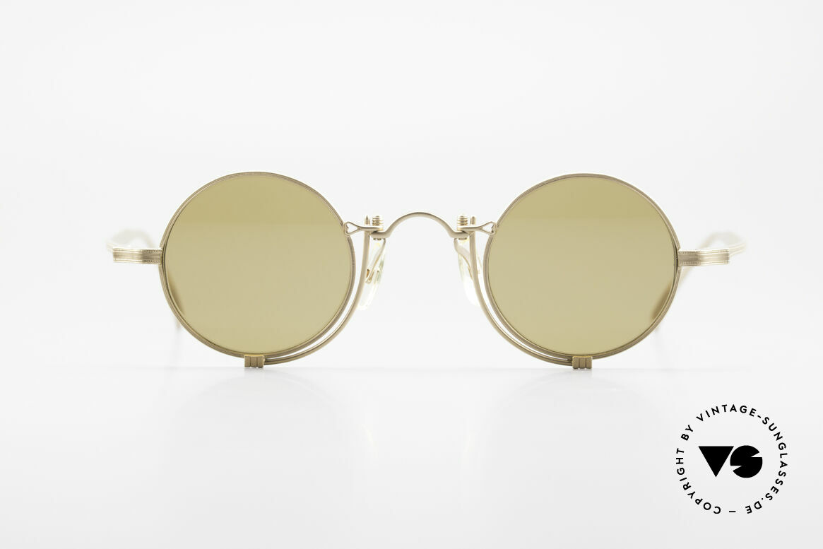 Matsuda 10601 Vintage Designer Frame Round