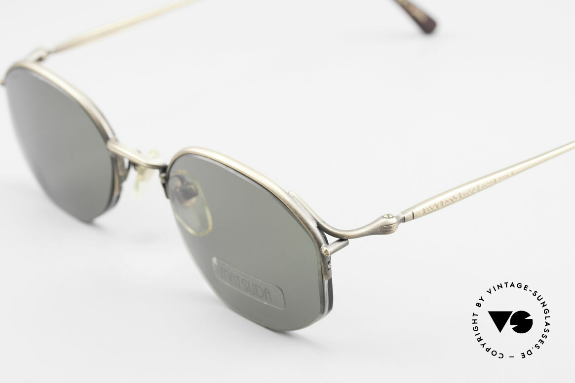 Matsuda 2855 Extraordinary Vintage Frame, rare, 20 years old single item, NO RETRO SHADES, Made for Men and Women