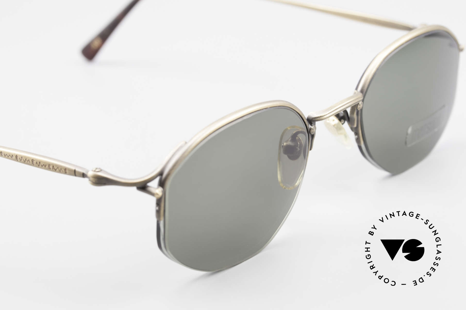 Matsuda 2855 Extraordinary Vintage Frame, lenses (100% UV) can be replaced with prescriptions, Made for Men and Women
