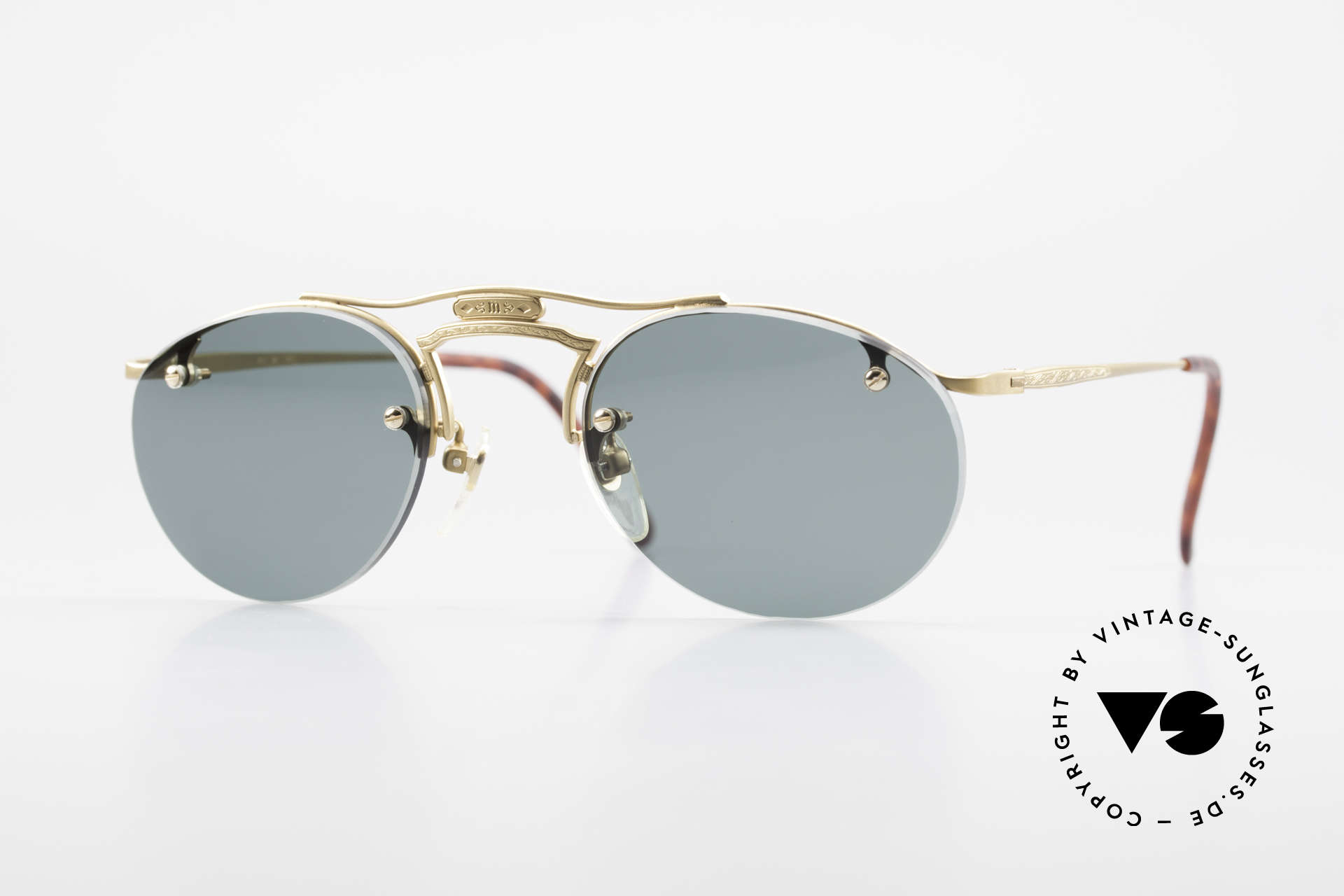 Matsuda 2823 Small Aviator Style Shades, vintage Matsuda sunglasses, unique SMALL aviator style, Made for Men and Women