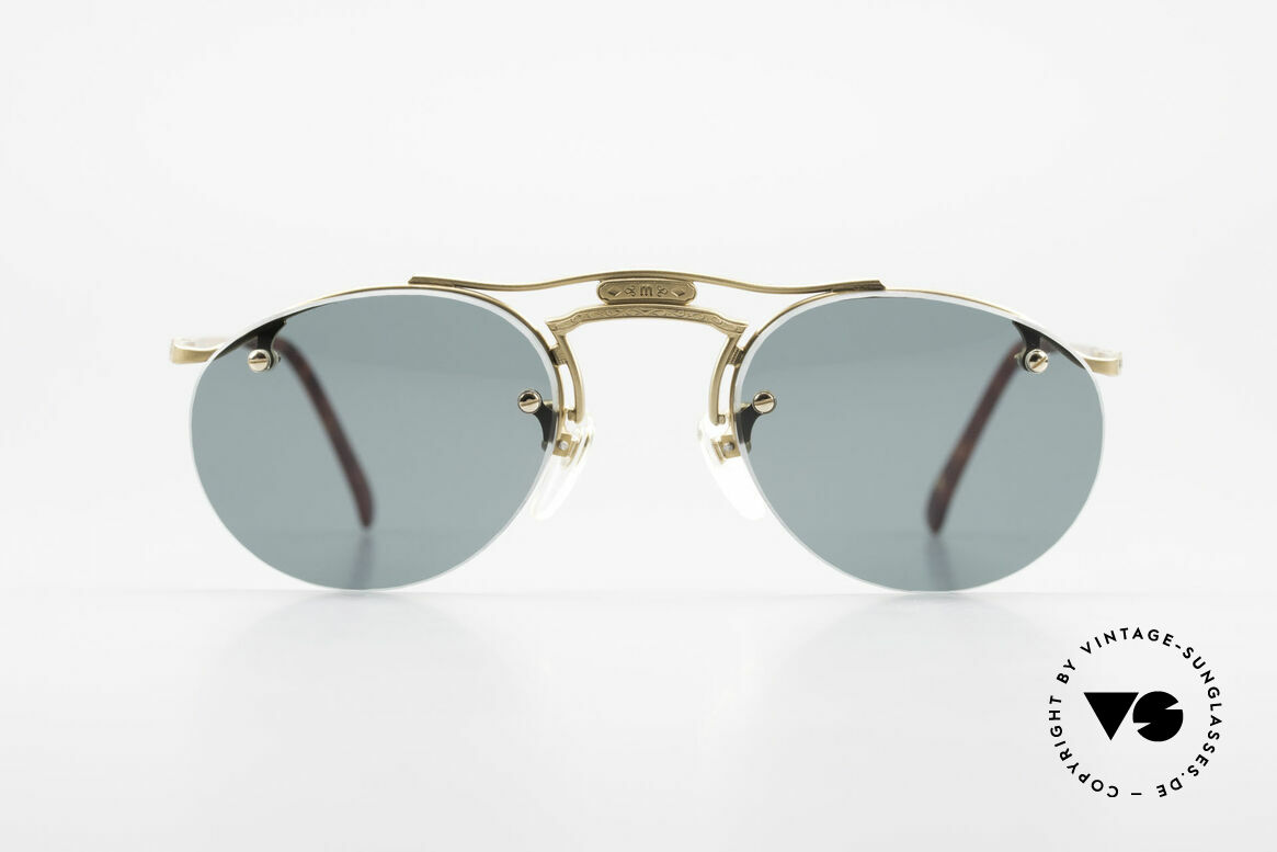 Matsuda 2823 Small Aviator Style Shades, outstanding craftsmanship by the Japanese manufactory, Made for Men and Women