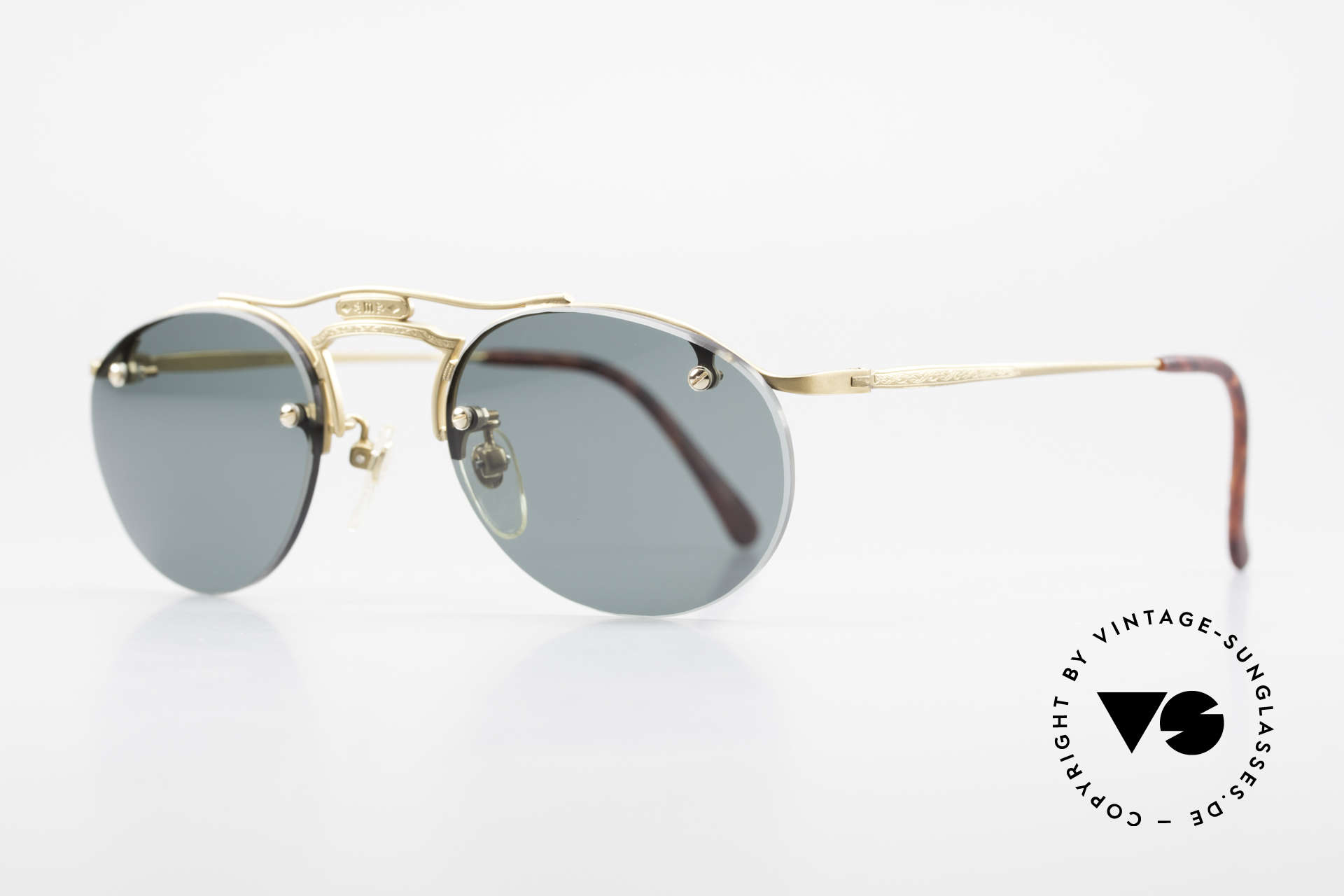 Matsuda 2823 Small Aviator Style Shades, model represents lifestyle & quality awareness, similarly, Made for Men and Women