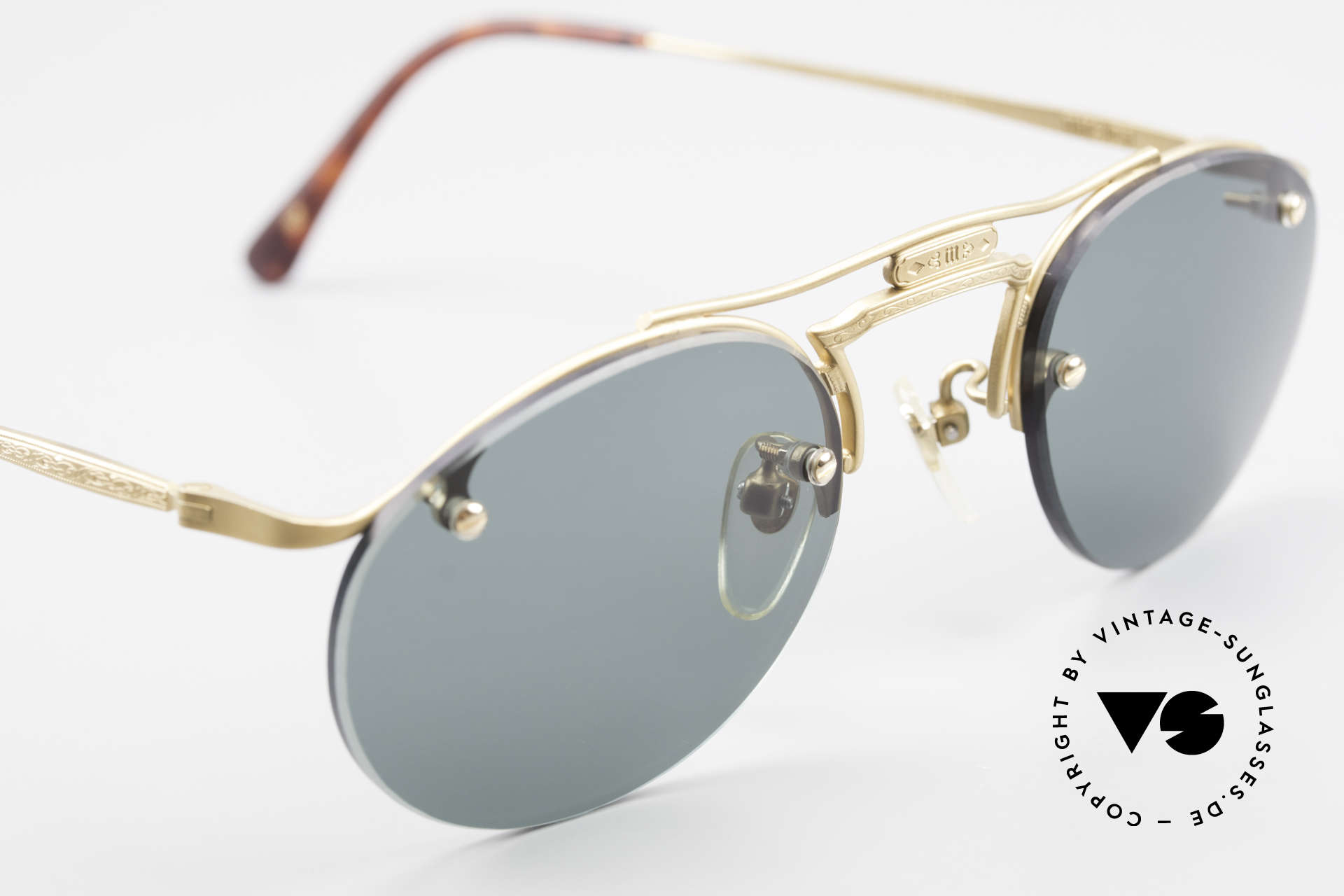 Matsuda 2823 Small Aviator Style Shades, NO retro sunglasses, but a 25 years old ORIGINAL, vertu, Made for Men and Women