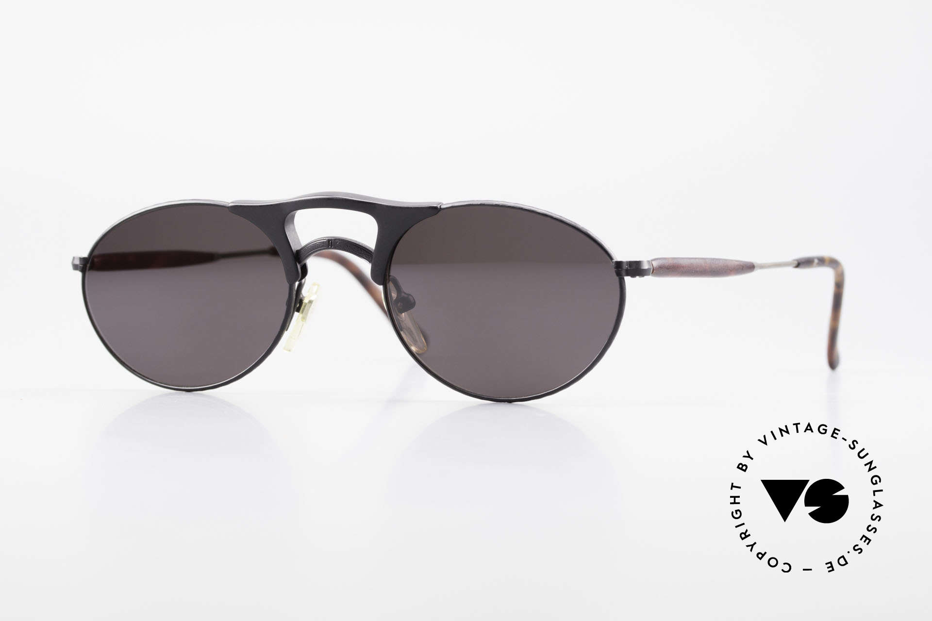 Matsuda 2820 Small Aviator Style Sunglasses, vintage Matsuda sunglasses, unique SMALL aviator style, Made for Men and Women