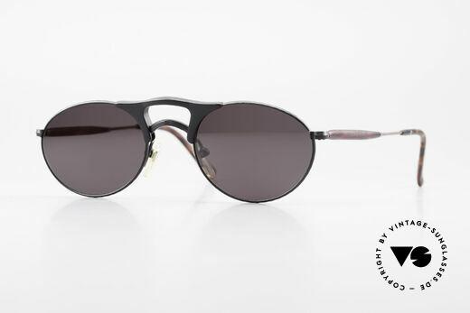Matsuda 2820 Small Aviator Style Sunglasses Details
