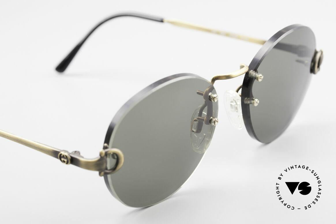 Gucci 2223 Rimless Round Sunglasses