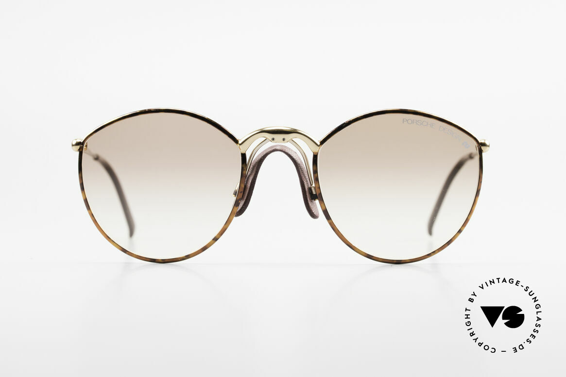 Porsche 5638 True 90's Vintage Shades, noble finished frame with comfortable 'saddle bridge', Made for Men and Women