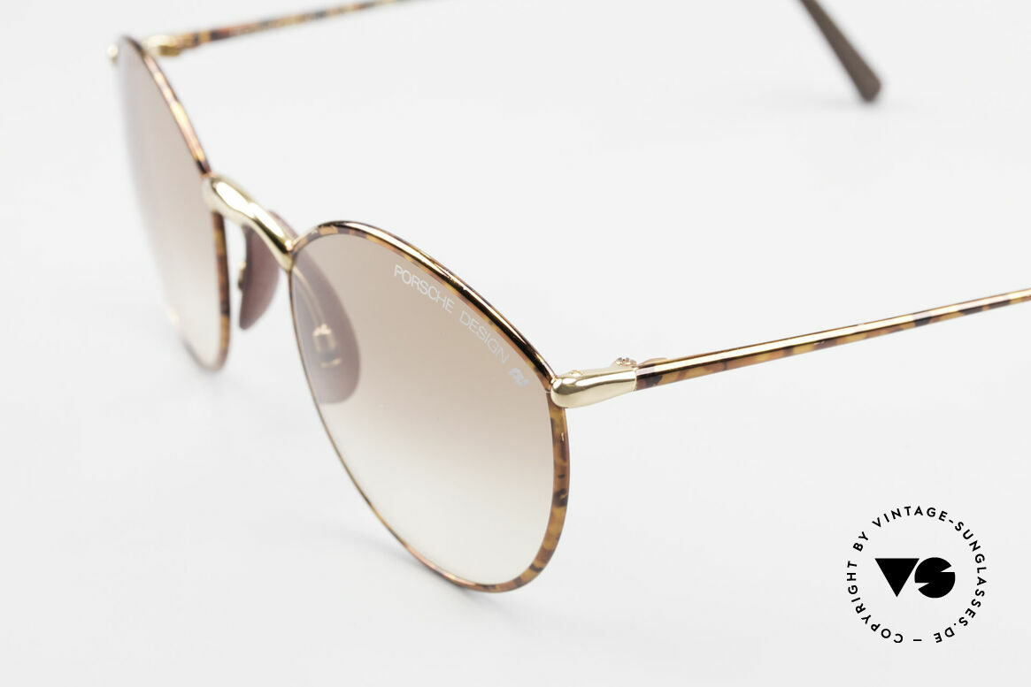 Porsche 5638 True 90's Vintage Shades, top quality with brown PD lenses (100% UV protect.), Made for Men and Women